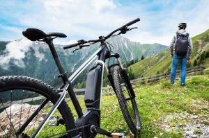 E-Bike in den Bergen
