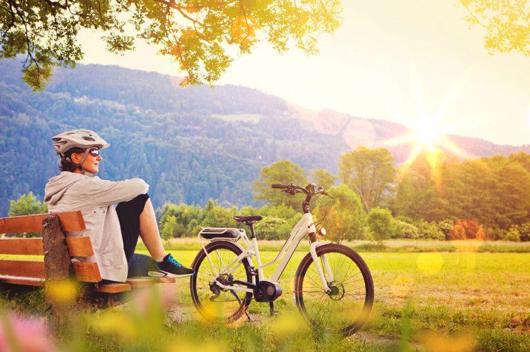 Pause von der Fahrradtour